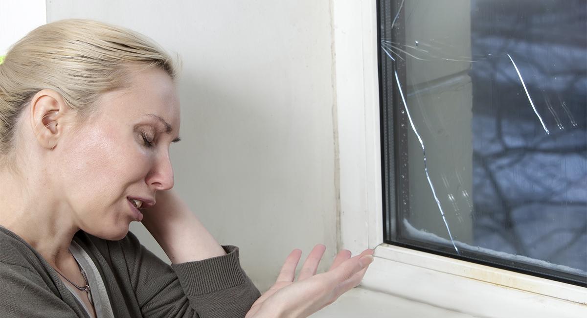 Лопнуло стекло?
