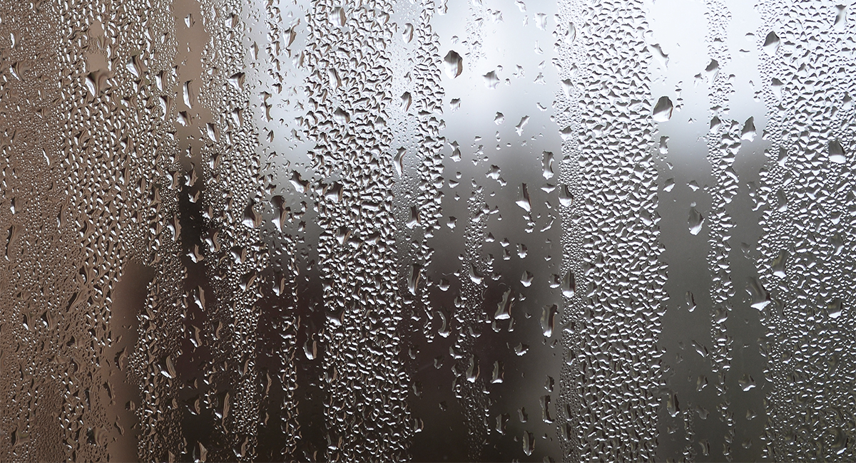 Запотевание окна в неотапливаемом помещении