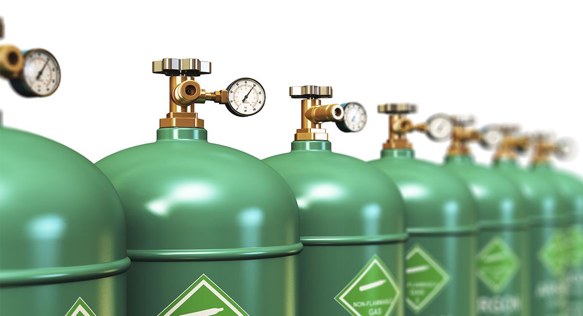 Какими газами заполняют стеклопакеты?